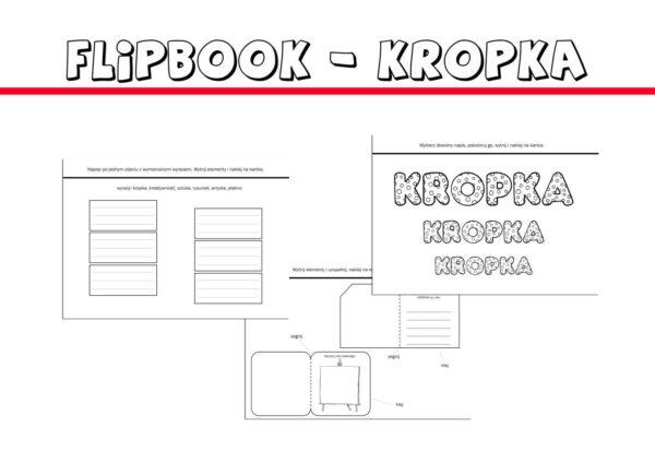 Flipbook kropka