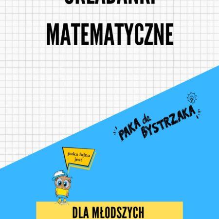 Układanki matematyczne cz 2