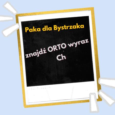 Zgadnij Ortowyraz Ch