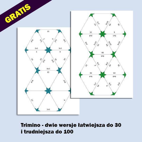 Trimino- dwie wersje (gratis)