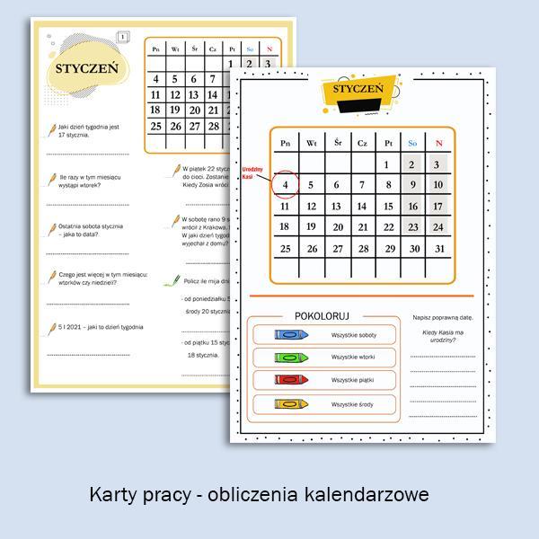 kalendarz bystrzaka. obliczenia
