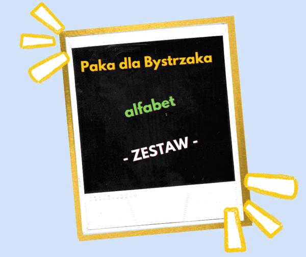 Zestaw Alfabet