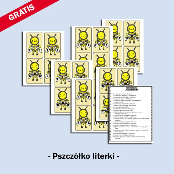Pszczółko- literki
