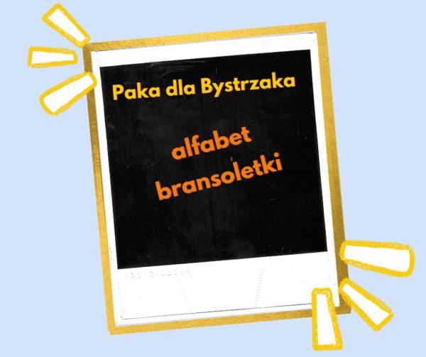 alfabet bransoletki