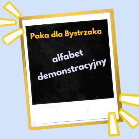 alfabet demonstracyjny