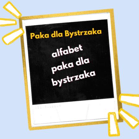 alfabet. paka dla bystrzaka (w. elektroniczna)